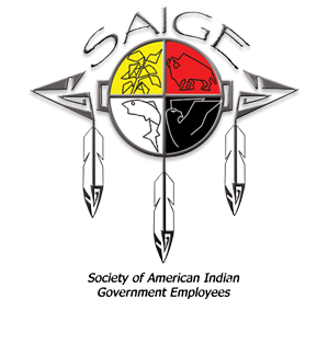SAIGE logo and home button