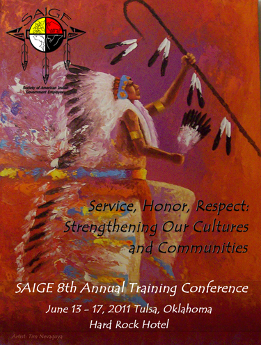 Conference Agenda cover for 2011